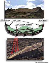 بالصور - كشف آثار سفينة سيدنا نوح عليه السلام  علي جبل الجودي بتركيا بالقرب من حدود العراق