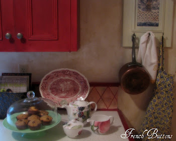 Red French Kitchen