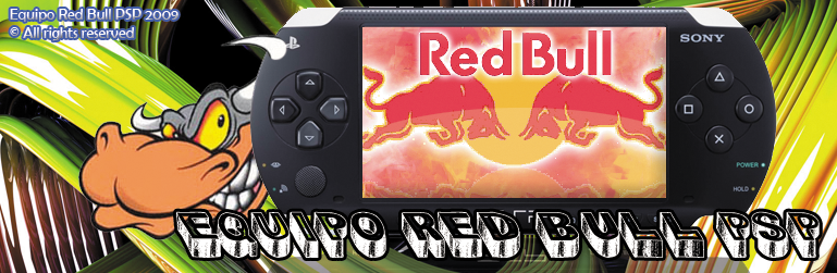Equipo Red Bull PSP