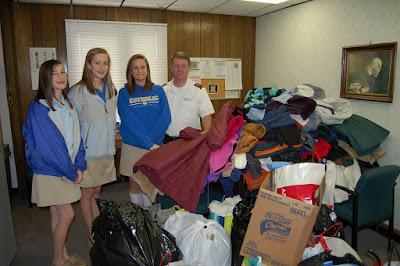 Montgomery Catholic Students Help Warm Montgomery 1
