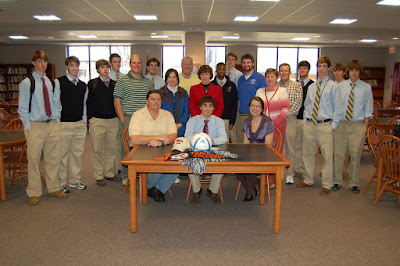 Newmeyer Signs with Tusculum College 1