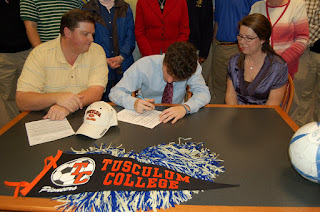 Newmeyer Signs with Tusculum College 2