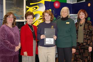 Hospice of Montgomery Awards Montgomery Catholic Student Artist 1