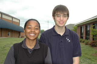 Moore and Ingram Selected for Girls and Boys State Conference 1