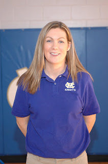 Coach Christine Robinson Leaving Montgomery Catholic 1