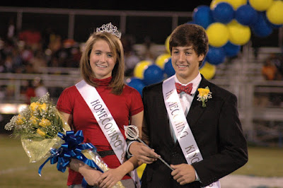 Montgomery Catholic Crowns 2008 Homecoming Queen & King 1