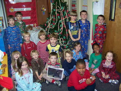 The Polar Express Stops at St. Bede 1