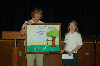 """Bach Winner of """"Be Kind to Animals"""" Poster Contest 1"""
