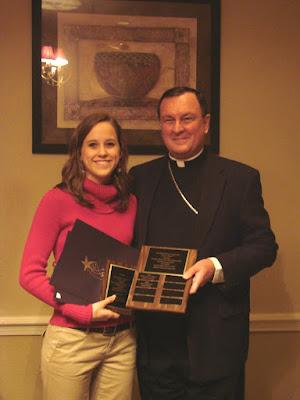 McClure Awarded Archbishop Lipscomb Service Award 1