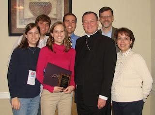 McClure Awarded Archbishop Lipscomb Service Award 2