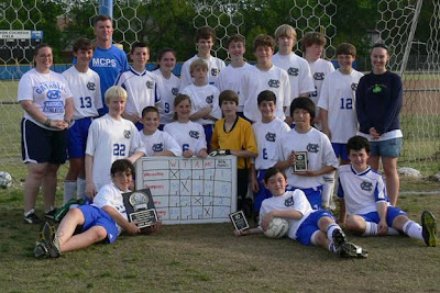 Catholic Claims Middle School Tournament Title 1