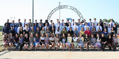 Congratulations Class of 2009, 134th Graduating Class of Montgomery Catholic Preparatory School 1