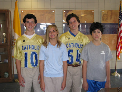 Montgomery Catholic Elects Middle School SGA Officers 1