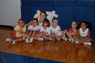 Montgomery Catholic Hosts Annual K-6 Cheer Clinic 1