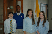 Montgomery Catholic Elects Middle School SGA Officers for 2010-2011 3