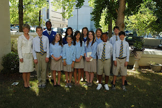 Montgomery Catholic Students Attend 37th Annual Red Mass 1