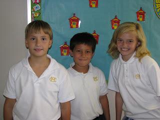 Fourth Grade Elects Mayors at Montgomery Catholic 1