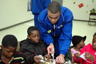 Montgomery Catholic Basketball Works With Inner City Evangelism 1