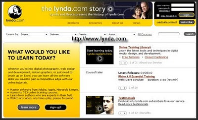 lynda video tutorials