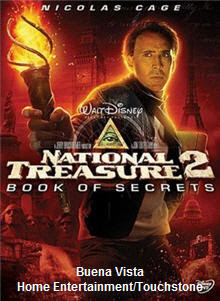 DVD Cover National Treasure 2: Book of Secrets