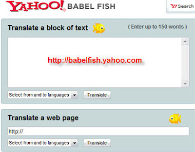 Yahoo Babelfish