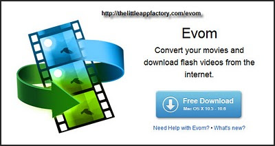 Mac Users only Evrom Video Convert