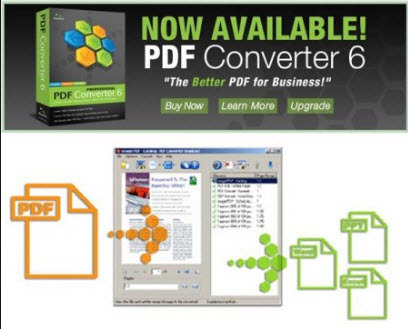 Nuance PDF Converter Professional Overview