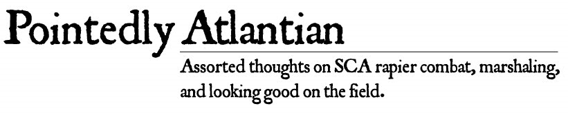 Pointedly Atlantian