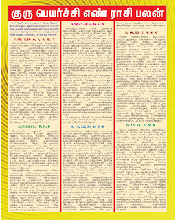 About Guru Peyarchi Predictions For 2014 2015 Birth Nakshatra