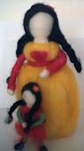 Muñeca. Mamá y su hija