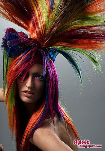 amazing hair art style 66