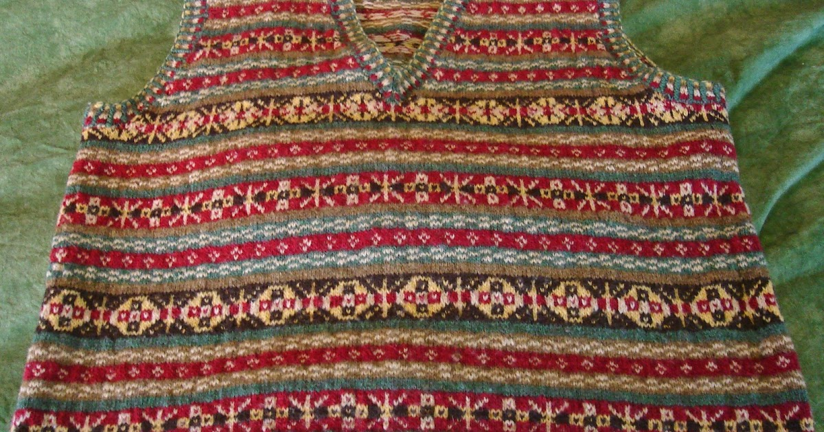Fair Isle Knitting Wrong Side : Obsessed with knitting fair isle memories