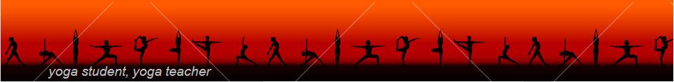 yoga student, yoga teacher