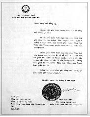 Công hàm PV Đồng 1958: