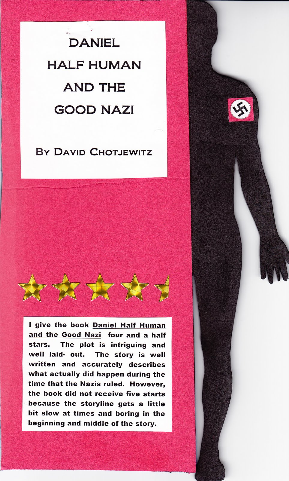 daniel half human and the good nazi
