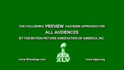 Superbowl 2011 - Movie Trailers