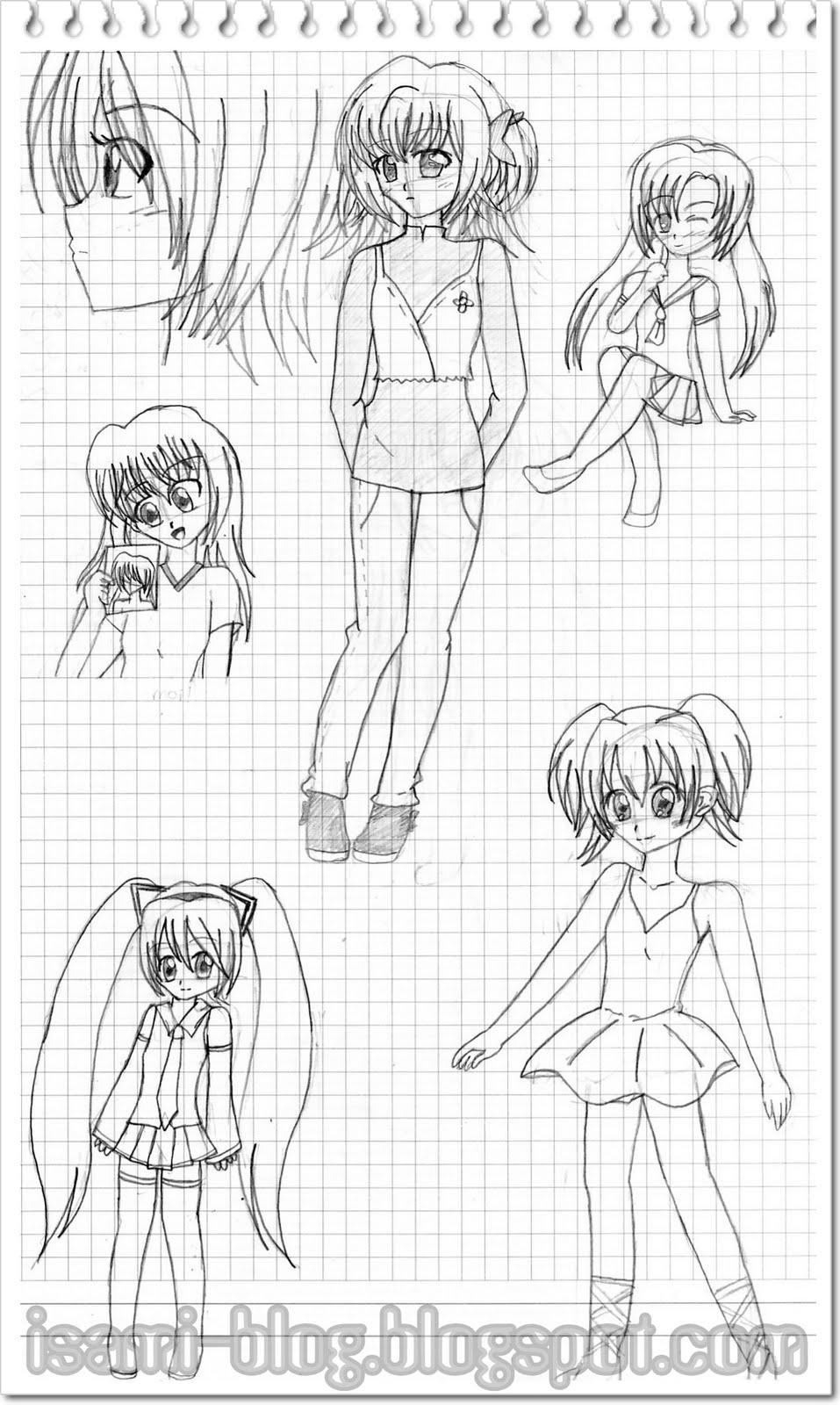 dibujos de chicas