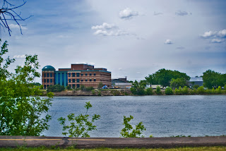 MISSOURI RIVER AND NEW FEDERAL COURT HOUSE
