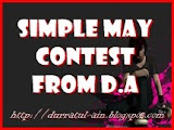 Simple May Contest From D.A
