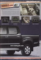 Toyota Hilux 2012 Brosur