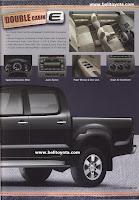 Toyota Hilux 2010 Brosur