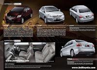 Brosur Toyota New Vios Facelift
