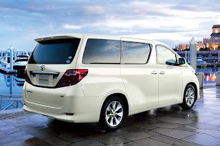 Spesifikasi Toyota New Alphard