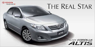 All New Corolla Altis : The Real Star