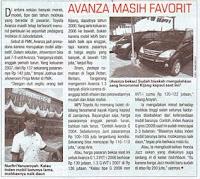 Harga Mobil Toyota New Avanza
