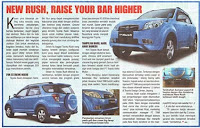 Toyota New Rush - Raise Your Bar Higher