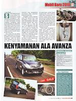 Avanza Automatic : Kenyamanan Ala Avanza – Autobild