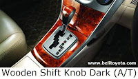 Wooden Shift Knob Dark (A/T)