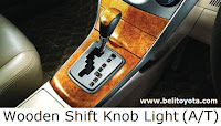 Wooden Shift Knob Light (A/T)