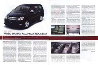 Kijang Innova: Mobil Keluarga Ideal Terbaik Indonesia